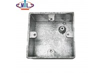 BS 50086 Cast Iron Electrical Switch Socket box