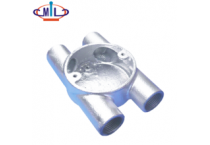 Built-in malleable iron waterproof electrical conduit junction box price