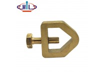 High Quality Copper Parts Brass Clamp For Threaded Rod