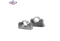 Malleable hot galvanized Hospital Saddles for conduit fittings