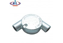20mm galvanized L shape malleable iron tangent box