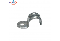 20MM Steel Electrical conduit clip half Saddles with hole