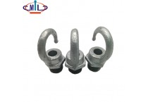 Rounded Hot Dipped Galvanized Metal malleable iron hanging hooks