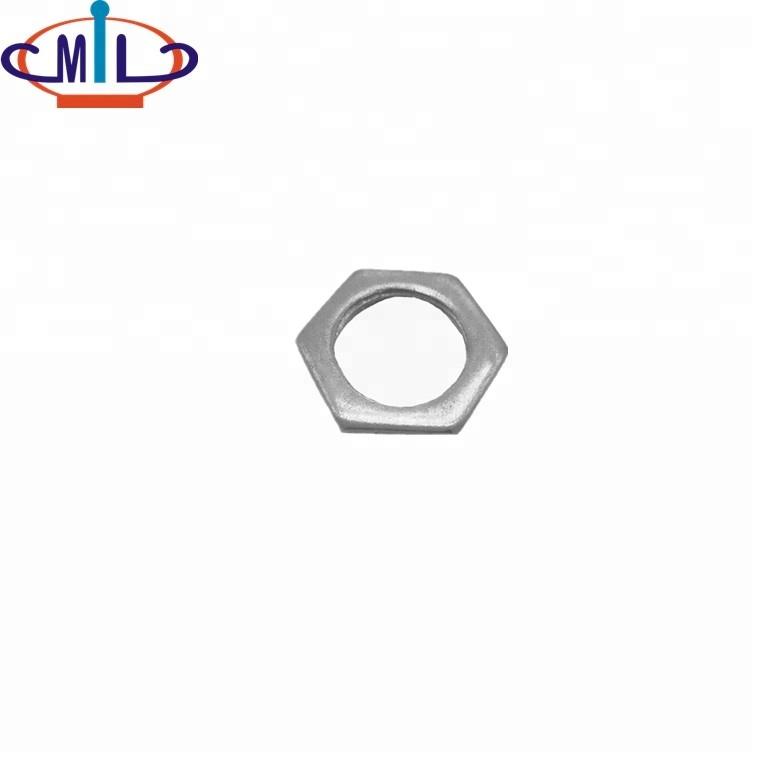 /upfile / images / 20181024 / conduit-fine-qualiiy-rigide en acier - la lumière hexagonale locknuts_1.jpg