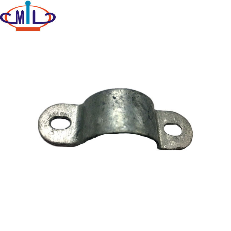 conduit pipe accessory steel saddle clamp - China conduit