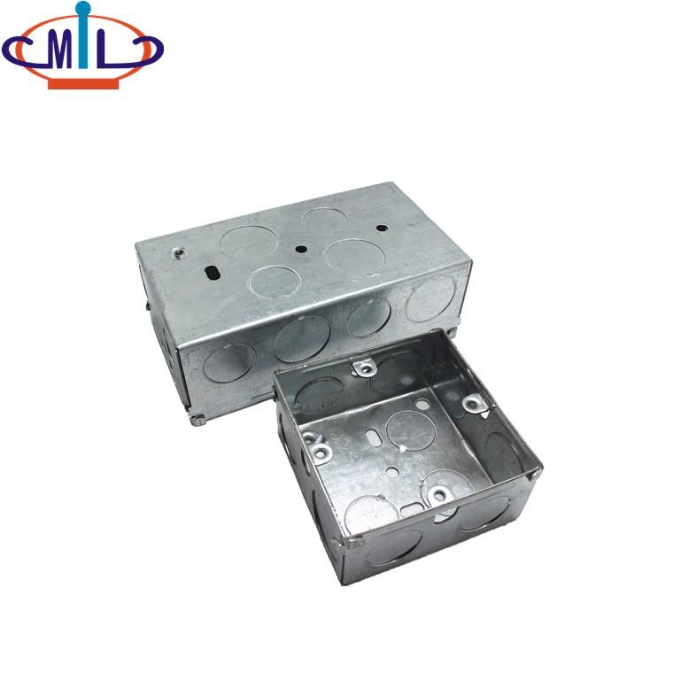 /upfile / صور / 20181025 / المدرجة المجاهدين المجلفن الصلب المعدنية الكهربائية-X-تقاطع-مربع-منفذ-box_0.jpg
